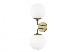 1-2-Light Armed Sconce